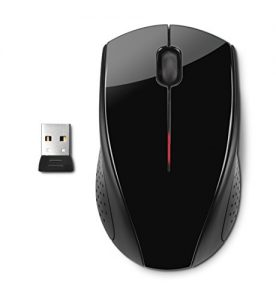 HP x3000 Wireless Mouse, Black (H2C22AA#ABL)