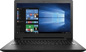 "Lenovo IdeaPad 15.6"" High Performance Premium HD Laptop, Intel Dual-Core N3060 Processor, 4GB RAM, 500GB HDD, DVD/CD Burner, HDMI, 802.11AC, Bluetooth, Webcam, Windows 10, Black"