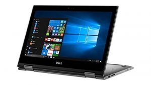 Dell Inspiron 2-in-1 13.3-Inch Full HD Touchscreen Convertible Laptop PC, Intel Core i5-7200U 2.5GHz, 8GB DDR4 RAM, 1TB HDD, Backlit Keyboard, WIFI, Bluetooth, Webcam, NO DVD, Windows 10