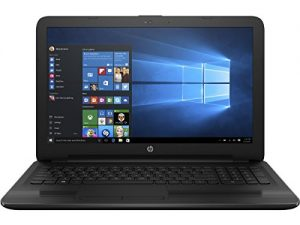 HP 15.6-Inch HD High Performance Laptop, AMD Quad-Core Processor, 4GB RAM, 500GB HDD, DVD+/-RW, AMD Radeon R2 Graphics, WIFI, Webcam, HDMI, Windows 10
