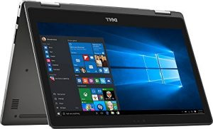 Premium Dell Inspiron 7000 13.3″ 2-in-1 Full HD Touchscreen Convertible Laptop, 7th Intel Core i7-7500U, 12GB DDR4 RAM, 256GB SSD, Backlit Keyboard, Bluetooth, HDMI, 802.11AC, Windows 10
