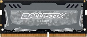 Ballistix Sport LT 4GB Single DDR4 2400 MT/s (PC4-19200) SODIMM 260-Pin  – BLS4G4S240FSD (Gray)