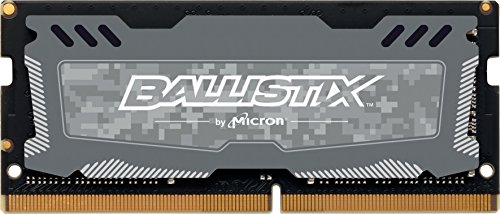 Ballistix Sport LT 4GB Single DDR4 2400 MT/s (PC4-19200) SODIMM 260-Pin  - BLS4G4S240FSD (Gray)
