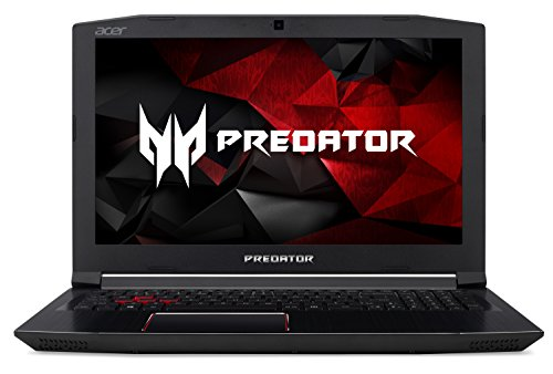 Acer Predator Helios 300 Gaming Laptop, Intel Core i7, GeForce GTX 1060, 15.6