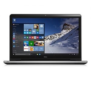 Dell Inspiron 17 i5759-8837SLV – 17.3″ FHD Touchscreen Laptop – Intel i7-6500U Skylake, 16GB RAM, 2TB HDD, AMD Radeon R5 M335, Windows 10 – Silver