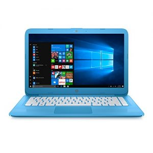 HP Stream Laptop PC 14-ax010nr (Intel Celeron N3060, 4 GB RAM, 32 GB eMMC) with Office 365 Personal for one year