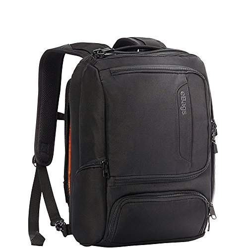 eBags Professional Slim Junior Laptop Backpack (Solid Black)