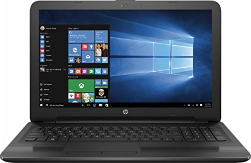 HP 15.6-inch Premium HD Laptop PC (2017 Newest), AMD Quad-Core APU 2.0GHz Processor, 4GB DDR3 RAM, 500GB HDD, Radeon R4 graphics, SuperMulti DVD Burner, HDMI, Windows 10