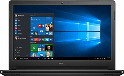 2017 Newest Dell Inspiron 15.6 HD Touchscreen Flagship High Performance Laptop PC, Intel Core i3-7100U Dual-Core, 6GB DDR4, 1TB HDD, DVD RW, Stereo Speakers, MaxxAudio, Bluetooth, Windows 10 (Black)