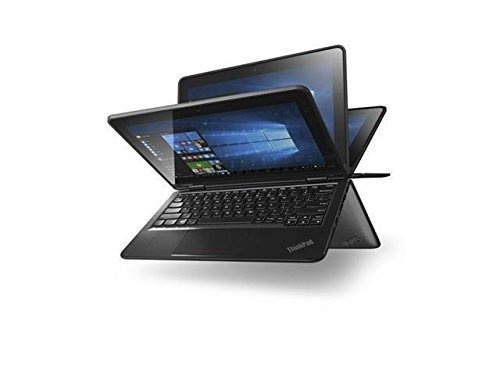 Lenovo Thinkpad Yoga Convertible 11.6 Inch Touchscreen IPS HD Chromebook (Model), Intel Quad Core Processor, 4GB RAM, 16GB SSD, 802.11ac, USB 3.0, HDMI, Bluetooth, HD Webcam, Chrome OS