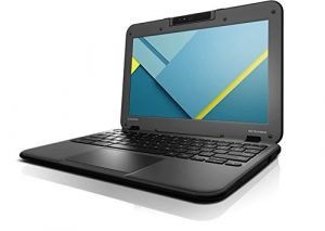 Lenovo N22 80SF0001US 11.6″ Chromebook Intel Celeron N3050 1.60 GHz, 4GB RAM, 16GB SSD Drive, Chrome OS