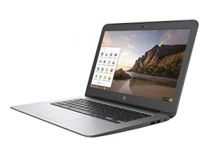 HP Chromebook T4M32UT#ABA 14-Inch Laptop (Intel Celeron processor, 4 GB RAM, 16 GB SSD, Chrome OS), Black