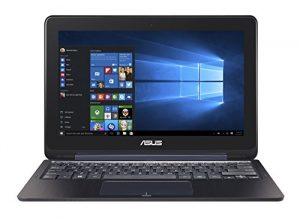 ASUS VivoBook TP200SA-DH01T-BL 11.6 inch display Thin and Lightweight 2-in-1 HD Touchscreen Laptop, Intel Celeron 2.48 GHz Processor, 4GB RAM, 32GB EMMC Storage, Windows 10 Home, Dark Blue Color