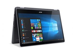 Acer Aspire R 15 Convertible Laptop, 7th Gen Intel Core i5, 15.6″ Full HD Touch, 8GB DDR4, 1TB HDD, Steel Gray, R5-571T-57Z0