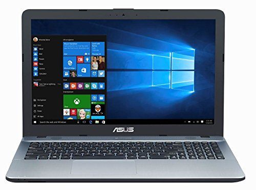 ASUS VivoBook X540SA 15.6-Inch High Performance Premium HD Laptop (Intel Quad Core Pentium N3710 Processor up to 2.56 GHz, 4 GB RAM, 500 GB HDD, Windows 10), Integrated WebCam, Bluetooth 4.0, Silver