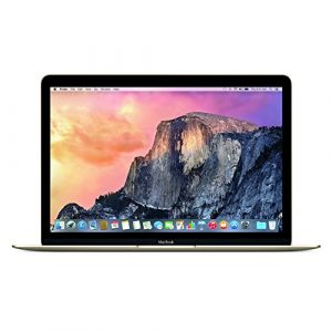 Apple 12″ MacBook Laptop w/ 1.1GHz Intel Core Processor – Gold, 512GB (Certified Refurbished)