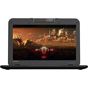 Premium High Performance Lenovo Chromebook Intel Celeron Dual-Core Processor 4GB Memory 16GB SSD WIFI HDMI Black