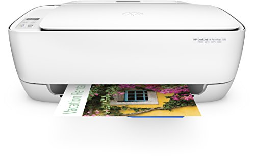 HP Deskjet 3636 Multifunktionsdrucker (WLAN Drucker, Scanner, Kopierer, HP Instant Ink ready, Airprint) weiß