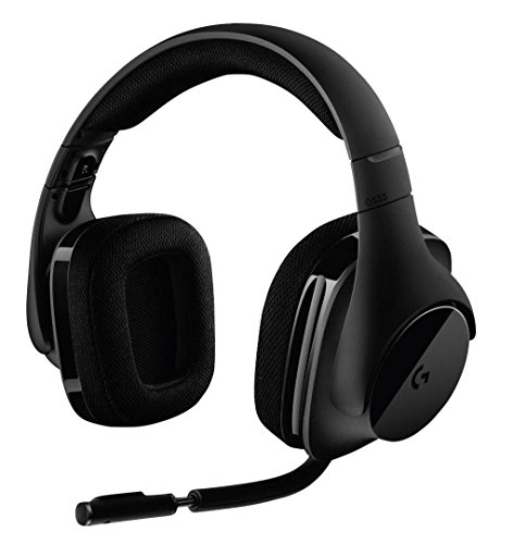 Logitech G533 Gaming Headset (kabelloser DTS 7.1 Surround Sound) schwarz