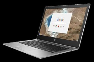 HP ChromeBook 13 G1 Intel PEM 4405Y 33,7cm 13,3Zoll QHD+ BV UMA 4GB 32GB/eMMC WLAN BT Chrome64 1J. G