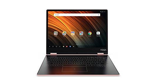 Lenovo YOGA A12 30,99cm (12,2 Zoll HD IPS Touch) 2in1 Tablet (Intel Atom x5-Z8550 Quad-Core, 2GB RAM, 32GB eMMC, Android 6.0, 720P Kamera, Dolby Atmos) roségold
