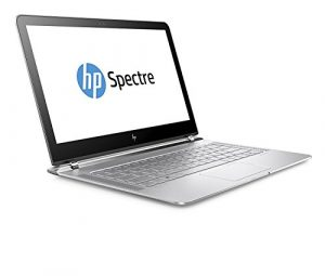 HP Spectre (13-v106ng) 33,8 cm (13,3 Zoll / FHD IPS) Laptop (Ultrabook mit: Intel Core i7-7500U, 8 GB RAM, 512 GB SSD, Intel HD-Grafikkarte 620, Windows 10 Home 64) silber
