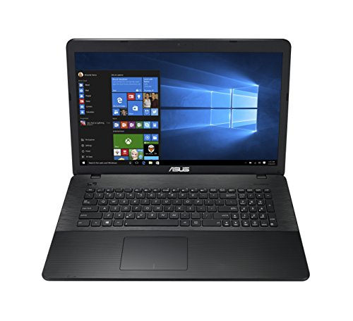 Asus F751NA-TYS27T 43,9 cm (17,3 Zoll) Notebook (Intel Celeron N3350, 4GB RAM, 1TB HDD, Intel HD Graphics, DVD-Laufwerk, Win 10 Home) schwarz
