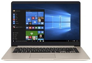Asus VivoBook S15 S510UQ-BR180T 39,62 cm (15,6 Zoll mattes FHD) Notebook (Intel Core i5-7200U, 8GB RAM, 1TB HDD, NVIDIA GeForce 940MX, Win 10 Home) gold