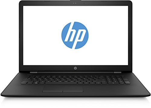HP 1UR51EA#ABD 17-bs001ng (17,3 Zoll / HD+ SVA) Laptop (Intel Celeron N3060, 8 GB RAM, 256 GB SSD, Intel HD Grafik, FreeDOS 2.0) schwarz