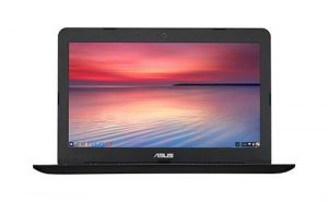 ASUS Chromebook C300SA 13.3-Inch Notebook – UK Stock (Intel Celeron, 2GB RAM, 32GB eMMC, Chrome OS) (Black)