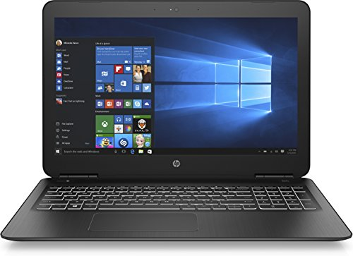 HP Pavilion Notebook 15-bc303ng 39,6 cm (15,6 Zoll Full HD) Notebook (Intel Core i7-7500U, 8GB RAM, 1TB HDD, 128GB SSD, Nvidia GeForce GTX 950M 4GB, Windows 10 Home) schwarz