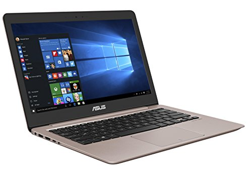 Asus Zenbook UX310UA-FC755T 33,7cm (13,3 Zoll FHD matt) Notebook (Intel Core i5-7200U, 8GB RAM, 256GB SSD, Intel HD Graphics, Win10) rose gold