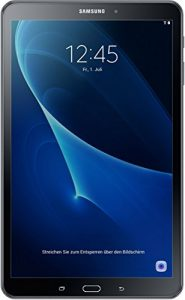 Samsung Galaxy Tab A (2016) T580 25,54 cm (10,1 Zoll) WiFi Tablet PC (Octa Core 2GB RAM Android 6,0 neue Version) schwarz