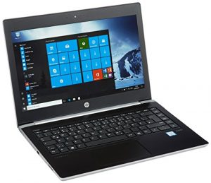 HP ProBook 430 G5 3KX73ES 33,7 cm (13,3 Zoll / Full HD) Business Notebook (Intel Core I5-7200U, 256GB SSD, 8GB DDR4 RAM, Intel HD 620 Grafik, DOS) schwarz / silber