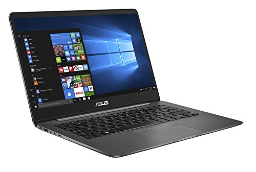 Asus Zenbook UX3430UQ-GV010T 35,5 cm (14 Zoll FHD matt) Notebook (Intel Core i7-7500U, 16GB RAM, 256GB SSD, Nvidia GeForce 940MX, Win 10) grau