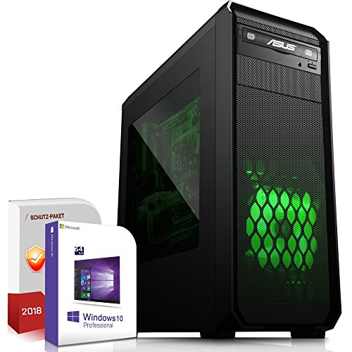 Komplett PC Office/Multimedia|Windows 10 Pro 64-Bit|AMD Octa-Core FX-8300 8x4,2GHz Turbo|Radeon HD 3000|8GB DDR3 RAM|1000GB HDD|USB 3.0|Computer|3 Jahre Garantie