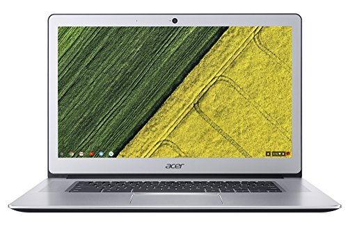 Acer Chromebook 15 CB515-1HT-P58C 39,6 cm (15,6 Zoll Full-HD IPS matt) Chromebook (Intel Pentium N4200 Quad-Core, 8GB RAM, 64GB eMMC, Intel HD, Chrome OS) silber