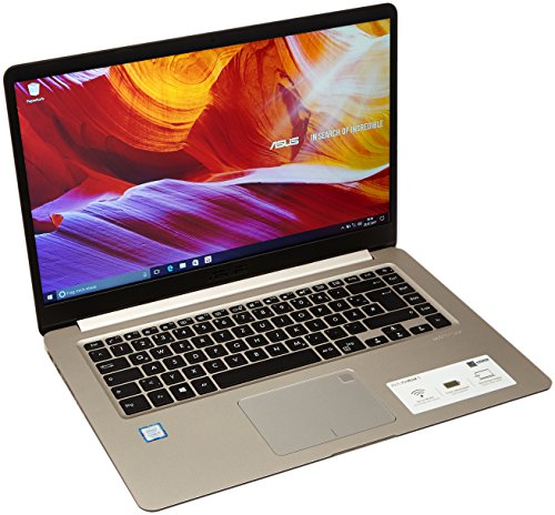 Asus VivoBook S15 S510UA-BR223T 39,62 cm (15,6 Zoll matt HD) Notebook (Intel Core i5-7200U, 8GB RAM, 256GB SSD, Intel HD Graphics, Win 10 Home) gold