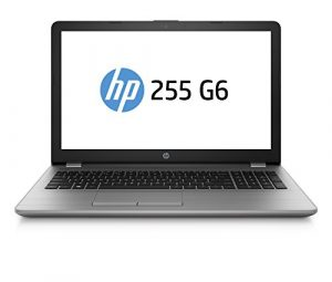 HP 255 G6 SP 2UC27ES 39,6 cm (15,6 Zoll FHD) Laptop (AMD A6-9220 APU, 8GB RAM, 256GB SSD, AMD Radeon Grafik, DVD, Windows 10) grau