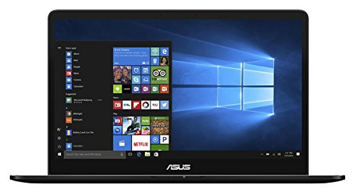 Asus Zenbook Pro 90NB0ET2-M01330 39,62 cm (15,6 Zoll mattes FHD) Laptop (Intel Core i7-7700HQ, 16GB RAM, 512GB SSD, NVIDIA Geforce GTX1050, Win 10 Home) schwarz
