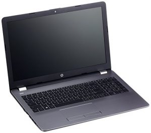 HP 255 G6 3QL61ES 39,6 cm (15,6 Zoll HD) Laptop (AMD A6-9220-APU, 8GB RAM, 1TB HDD, AMD Radeon R4 Grafik, DVD, Windows 10 Home 64) silber