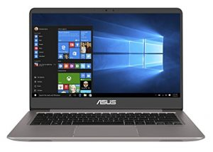 ASUS Zenbook UX3410UA-GV579T 35,56 cm (14 Zoll FHD Matt) Laptop (Intel Core i5-7200U, 8GB RAM, 256GB SSD, Intel HD Graphics, Win 10) Grau