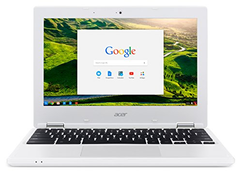 Acer NX.G85EK.001 - Chromebook 11 CB3-131 White - 11.6 INCH HD Celeron N2840 2GB 16GB Chrome OS 1yr
