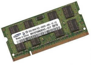 Samsung original 2 GB 200 pin DDR2-800 (PC2-6400) 128Mx8x16 double side