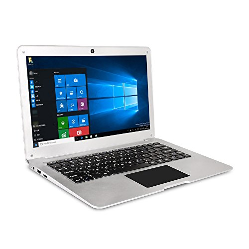 Jumper EZbook 2SE - 12 Zoll Windows 10 Notebook (Intel Cherry Trail Z8350, Quad Core, 2GB RAM 64GB ROM, 1600 * 900 Pixels, Wifi, BT4.0, HDMI) Silber