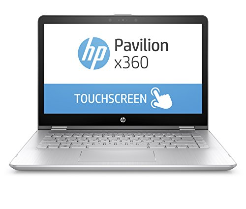 HP Pavilion x360 14-ba101ng 35,5 cm (14 Zoll Full HD IPS Touchdisplay) Convertible Laptop (Intel Core i5-8250U, 8GB RAM, 256GB SSD, Intel UHD 620 Graphics, Windows 10 Home 64) silber