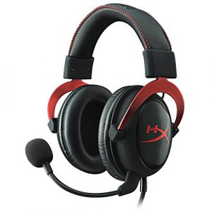 Kingston HyperX Cloud II Gaming Kopfhörer (für PC/PS4/Mac) Rot