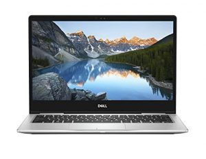 Dell Inspiron 13 7370 33,8 cm (13,3 Zoll FHD) 180-Grad-Scharnier Laptop(Intel Core i7-8550U, 512GB SSD, Intel UHD Graphics 620 with Shared Graphic Memory, Win 10 Home 64bit German) Platin Silber