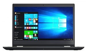 Lenovo 20JH002S ThinkPad Yoga 370 Chromebook (Intel Core i7, 256GB Festplatte, 8GB RAM, Win 10, 33,78 cm (13,3 Zoll)) Schwarz