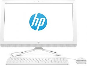 HP (24-g055ng) 60,45 cm (23,8 Zoll/Full HD-IPS) All-in-One Desktop PC (Intel Pentium J3710, 8 GB RAM, 1 TB HDD, Intel HD Graphics, Windows 10 Home 64) Weiß
